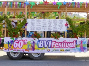 BVI Festival 60th Anniversary - Music