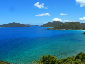 Cooten Bay, Tortola - one of the most pristine bays and views in the Caribbean