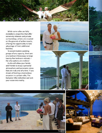 Destination Weddings Magazine - Article featuring AnaCapri Estate pictures and video