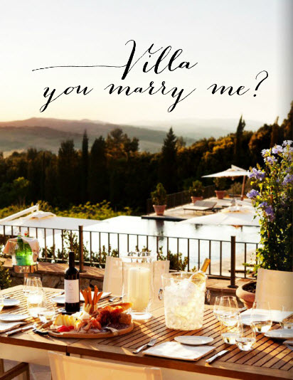 Destination Weddings Magazine - Villa you marry me? Article