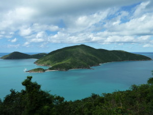 Guana Island, BVI - Southeastern view of the unspoiled 850 acre private island