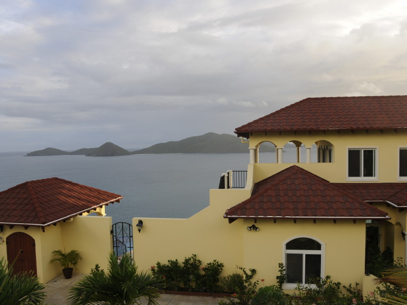 Guana Island, BVI - from AnaCapri Estate you cannot see any structures on Guana - so beautiful