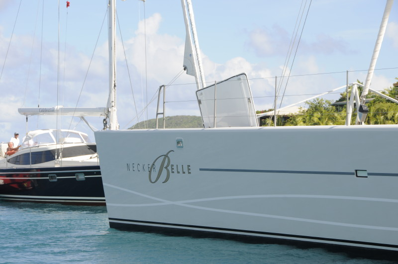 Sir Richard Branson's mega yacht, Necker Belle